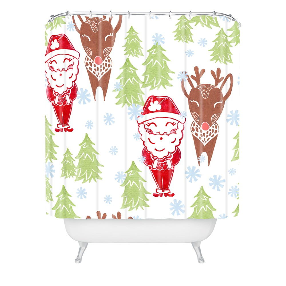 Best Bros From the North Pole Shower Curtain - Deny Designs Promos