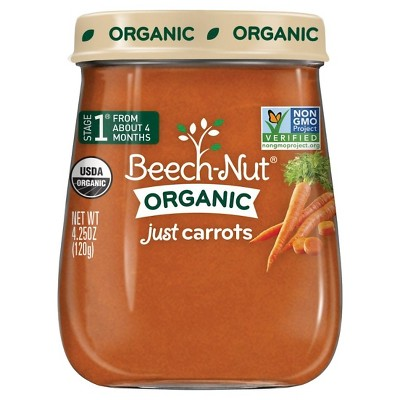 Beech-Nut Just Carrots Stage 1, 4.25oz