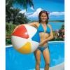 "Swimline 36"" Rainbow Inflatable Pool Lake Beach Ball Toy 110V Electric Air Pump - image 3 of 4"