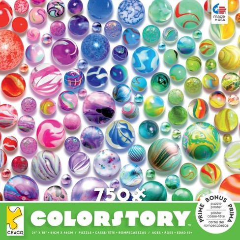 Ceaco Marbles Color Story Jigsaw Puzzle - 750pc - image 1 of 2
