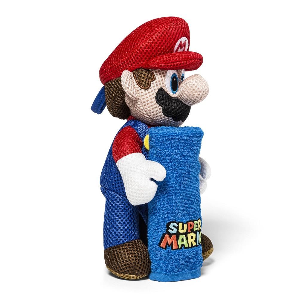 Image of Super Mario Still Hugging Wash Mitts