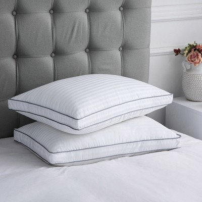 Peace Nest Striped Bed Pillows Set of 2