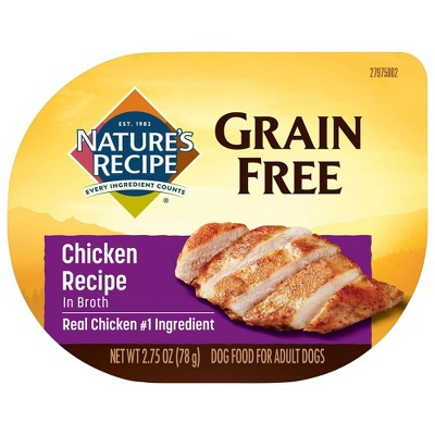 Nature's Recipe Wet Dog Food - 2.75oz