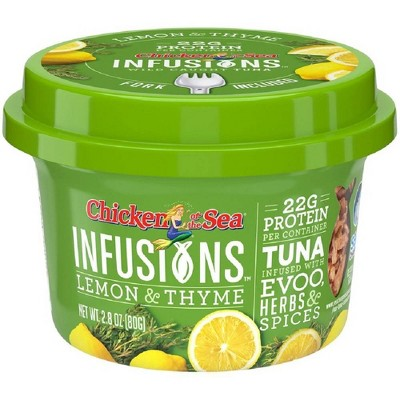 Chicken of the Sea Infusions Lime & Thyme Tuna - 2.8oz