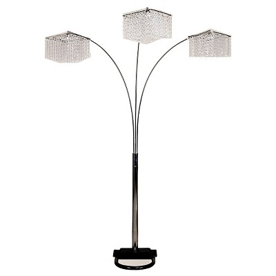 Orient International Inc. 3 Crystal Floor Lamp