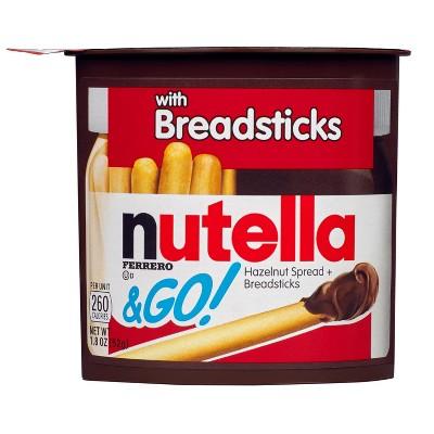 Nutella & Go! Hazelnut Spread & Breadsticks - 1.8oz