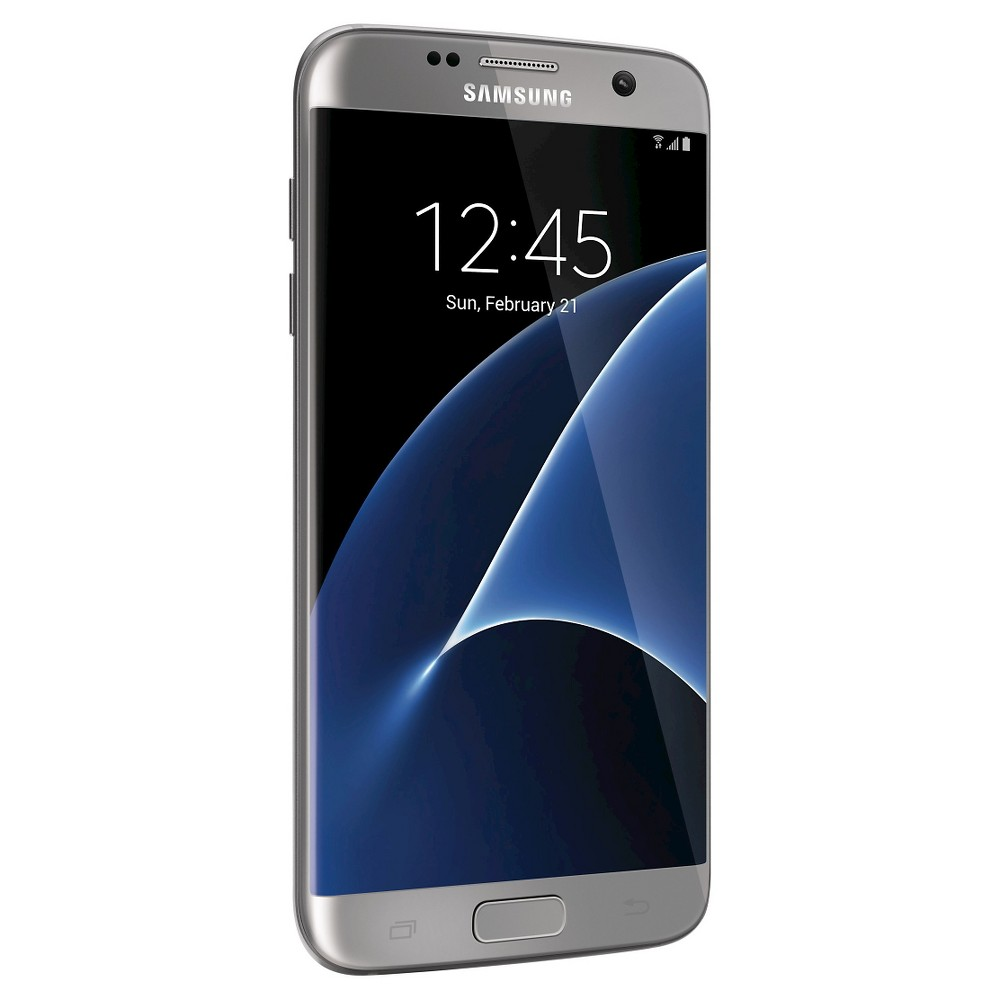 Samsung Galaxy S7 Edge 4G Lte 32GB (Unlocked) - Titanium, Dark Silver