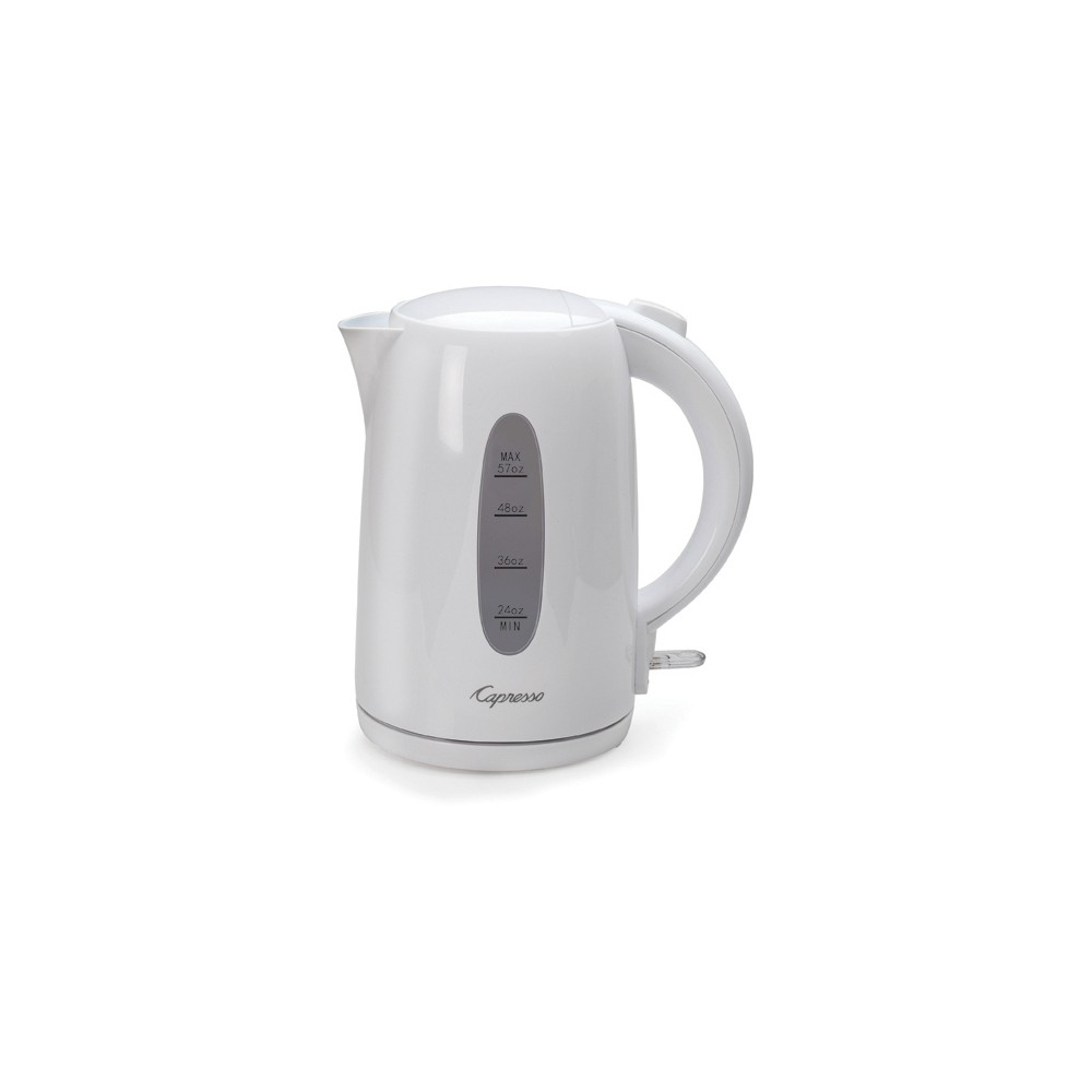 Capresso 57 fl oz Electric Water Kettle – White 53471909