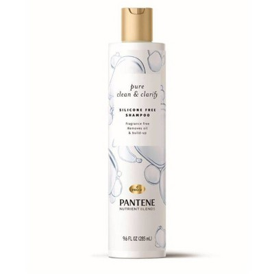 Pantene Pure Clean & Clarify Silicone-Free Shampoo - Fragrance-Free - 9.6 fl oz