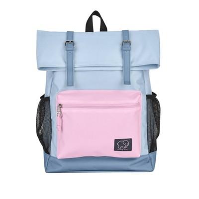 "Ivory Ella 16"" Rollover Backpack   Blue/Magenta by Blue/Magenta"