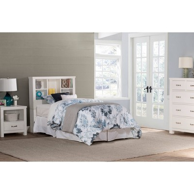 Twin Cliffside Bookcase Headboard Metal Frame White - Hillsdale Furniture