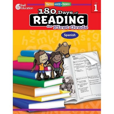 180 Days Of Reading For First Grade (spanish) - (180 Days Of Practice) By  Suzanne I Barchers (paperback) : Target