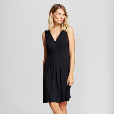 Maternity Nursing V-Neck Nightgown - Gilligan & O'Malley™ Black M