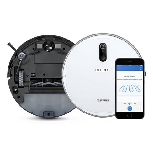 ECOVACS DEEBOT 710 Quiet Multi-Surface Robotic Vacuum Cleaner with Optical Mapping and Smart Navigation - image 1 of 4