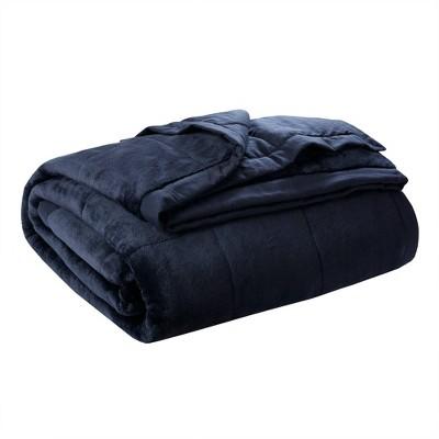 Full/Queen Coleman Reversible Down Alternative Bed Blanket Navy