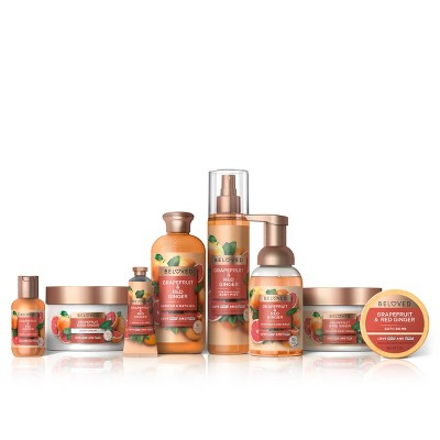 Beloved Grapefruit Oil & Red Ginger Bath and Body Collection