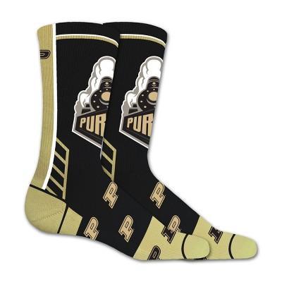 NCAA Purdue Boilermakers Tailgate Crew Socks L