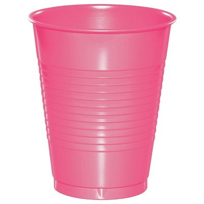 20ct Candy Pink Disposable Cups