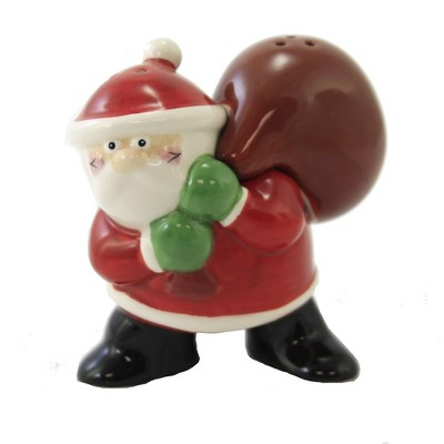 """Tabletop 3.5"""" Santa Salt And Pepper Shaker Christmas Claus One Hundred 80 Degree  -  Salt And Pepper Shaker Sets"""