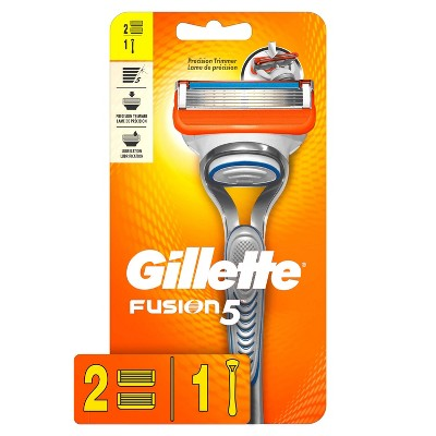 Gillette Fusion5 Men's Razor - 1 Handle + 2 Refills