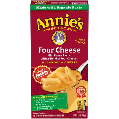 Annie's Natural Macaroni & Cheese Four Cheese 6 oz - image 1 of 3