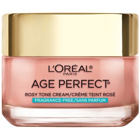 L'Oral Paris Age Perfect Rosy Tone Fragrance Free Face Moisturizer - 1.7oz - image 1 of 4