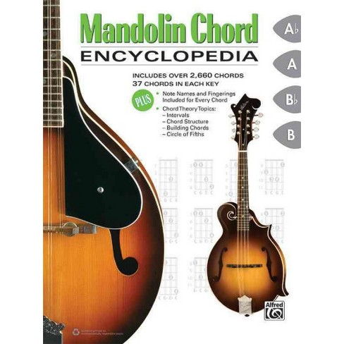 Mandolin Chord Encyclopedia Includes Over 2660 Chords 37 Chords
