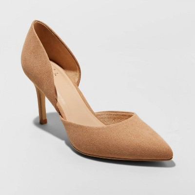 Women's Lacey D'orsay Heel Pumps - A New Day™