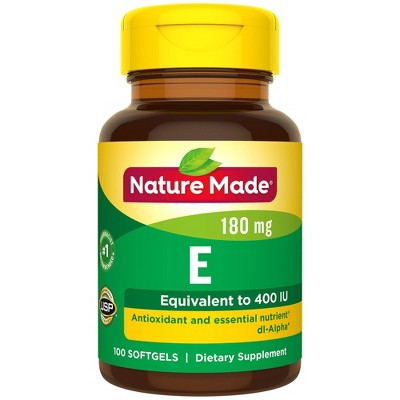 Vitamins & Supplements: Nature Made Vitamin E