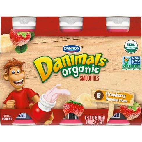 Danimals Organic Strawberry Banana
