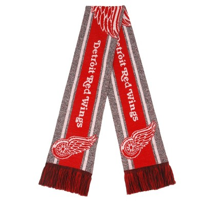 NHL Detroit Red Wings Gray Big Logo Scarf