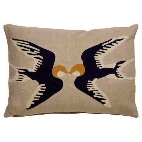 "Throw Pillow (18""x18"") - Jaipur - image 1 of 2"