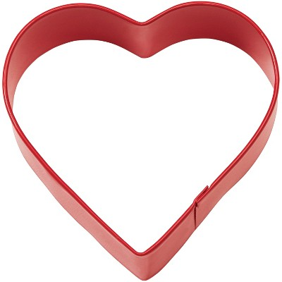 Red Metal Heart Shape Cutter - Wilton
