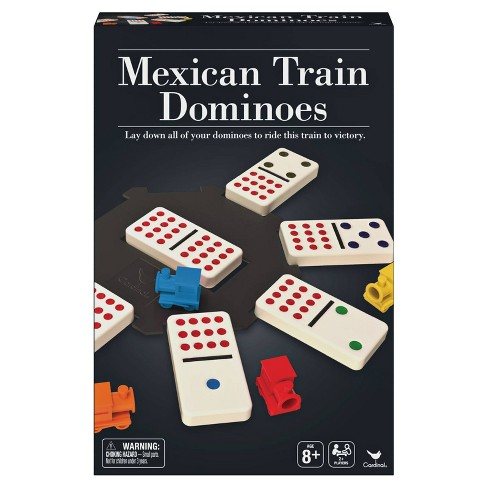 Cardinal Mexican Train Dominoes Game - image 1 of 4