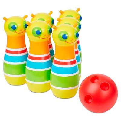 Melissa & Doug® Rainbow Caterpillar Bowling Set