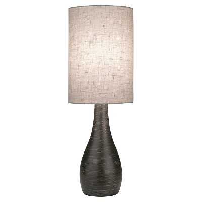 Lite Source Quatro I 1 Light Table Lamp  - Brushed Dark Bronze