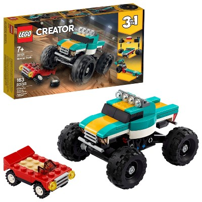 LEGO Creator 3-in-1 Monster Truck Cool Building Kit 31101