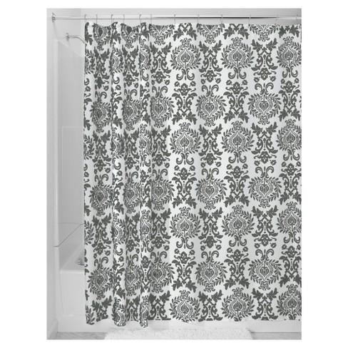 Damask Fabric Shower Curtain