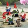 6pc Resin Miniature Gnome Garden Set - Exhart - image 2 of 4