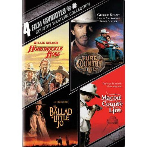 4 Film Favorites: Country Westerns (DVD) - image 1 of 1