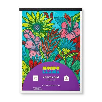"9""x12"" Canvas Painting Pad - Mondo Llama™"