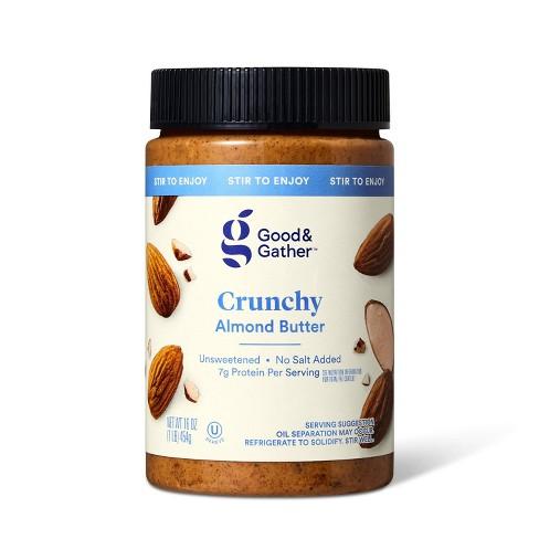 Stir Crunchy Almond Butter 16oz - Good & Gather™ - image 1 of 3