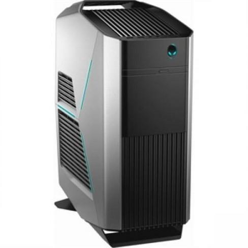 Dell Alienware R7 Gaming Desktop Computer Intel Core i7 16GB RAM 2TB HD 256GB SSD Black & Silver - 8th Gen i7-8700 Hexa-core - image 1 of 4