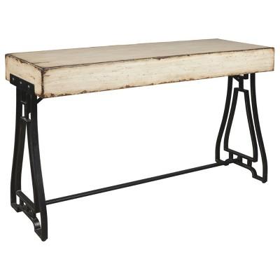 Vanport Sofa and Console Table Cream - Signature Design by Ashley