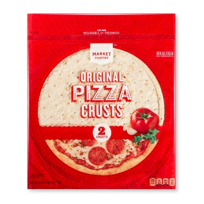 Original Pizza Crusts - 16oz/2ct - Market Pantry™