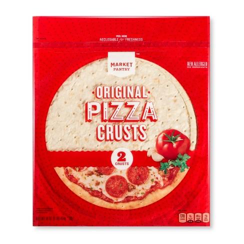 Original Pizza Crusts - 16oz/2ct - Market Pantry™ - image 1 of 1