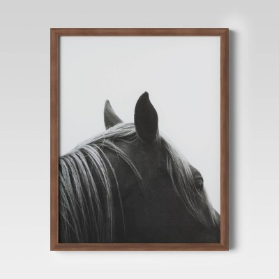 "16"" x 20"" Horse Framed Print - Threshold™"