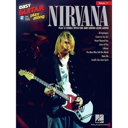 Hal Leonard Nirvana - Easy Guitar Play-Along Volume 11 Book/Audio Online - image 1 of 1