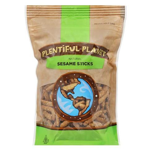 Plentiful Planet Natural Sesame Sticks 6 Pk Target