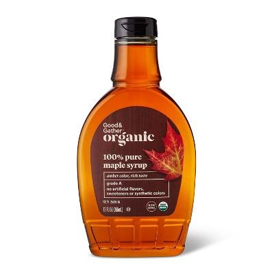 100% Pure Organic Maple Syrup - 12oz - Good & Gather™